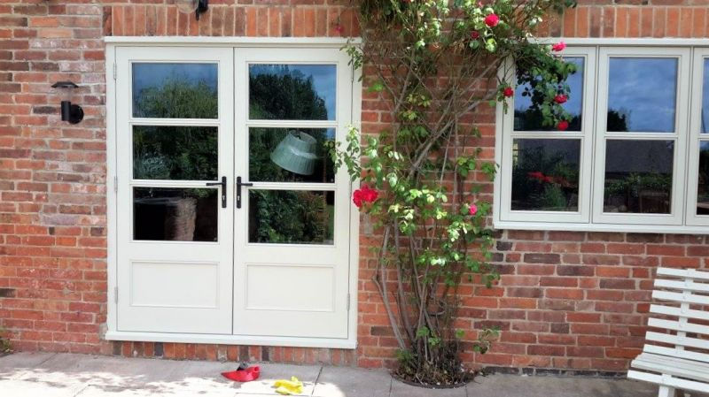 French doors with 5 point locking system: Swipe To View More Images